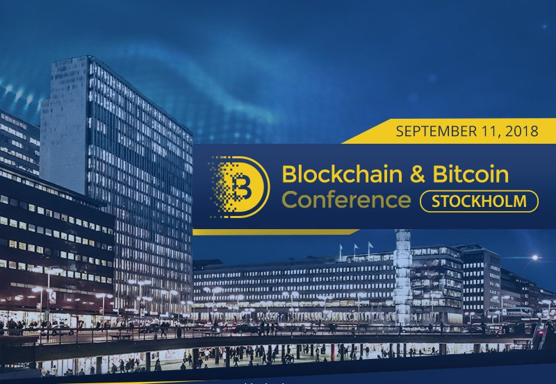 Adglink стал информационным партнером  Blockchain & Bitcoin Conference Stockholm
