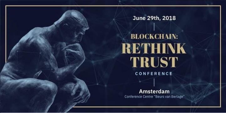 Adglink sponsored BLOCKCHAIN: RETHINK TRUST conference