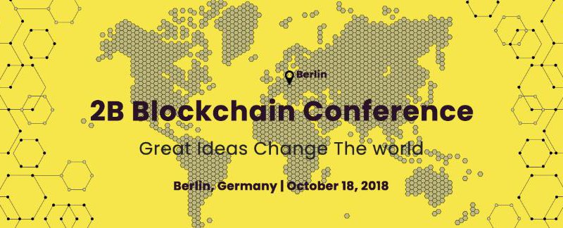 Adglink sponsored 2BBlockchain Conference Great ideas Change the world